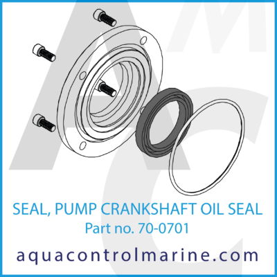 SEAL PUMP CRANKSHAFT OIL SEAL