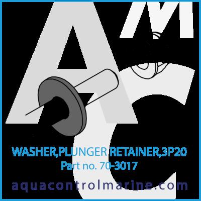 WASHER PLUNGER RETAINER 3P20