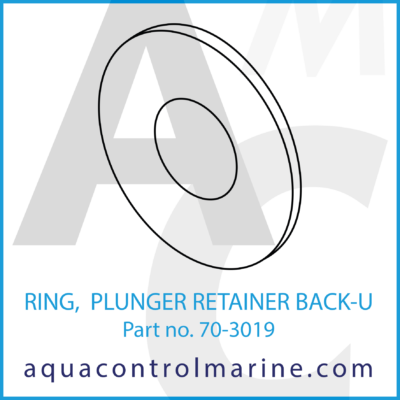 RING PLUNGER RETAINER BACK-U