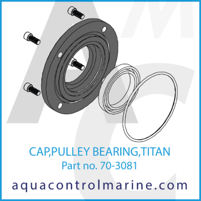 CAP PULLEY BEARING 5P50 AL