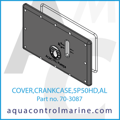 COVER CRANKCASE 5P50HD AL