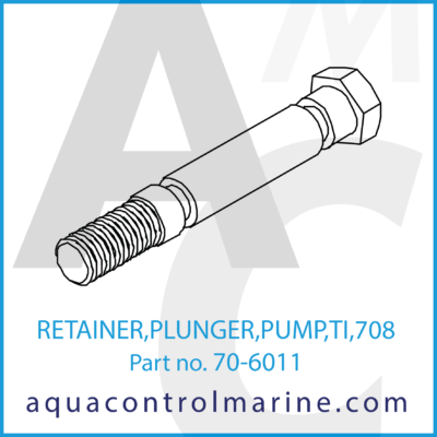 RETAINER PLUNGER PUMP TI 708 PART