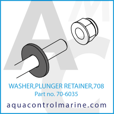 WASHER PLUNGER RETAINER 708