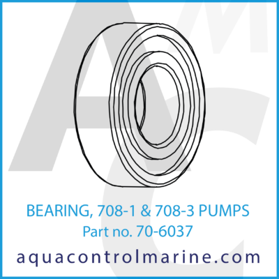 BEARING 807-1 & 708-3 PUMPS