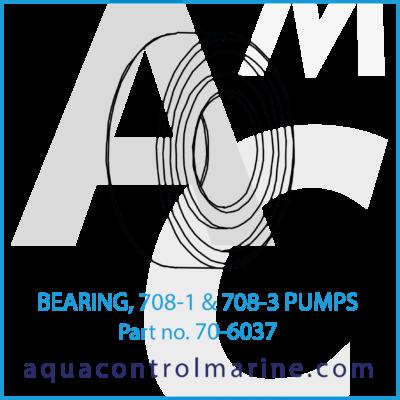 BEARING 807-1 & 708-3 PUMPS