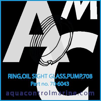 RING,OIL SIGHT GLASS,PUMP,708
