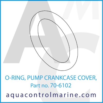 O-RING PUMP CRANKCASE COVER 3P20 PUMP