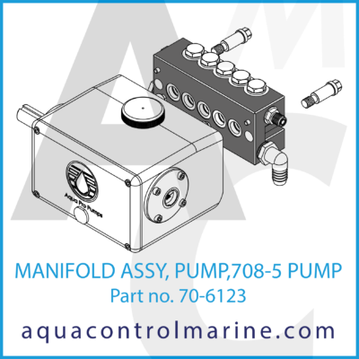 MANIFOLD ASSY PUMP 807-5 PUMP PART