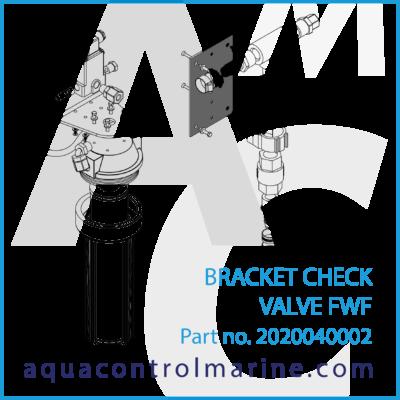 BRACKET CHECK VALVE FWF