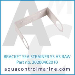 0 BRACKET SEA STRAINER SS AS RAW