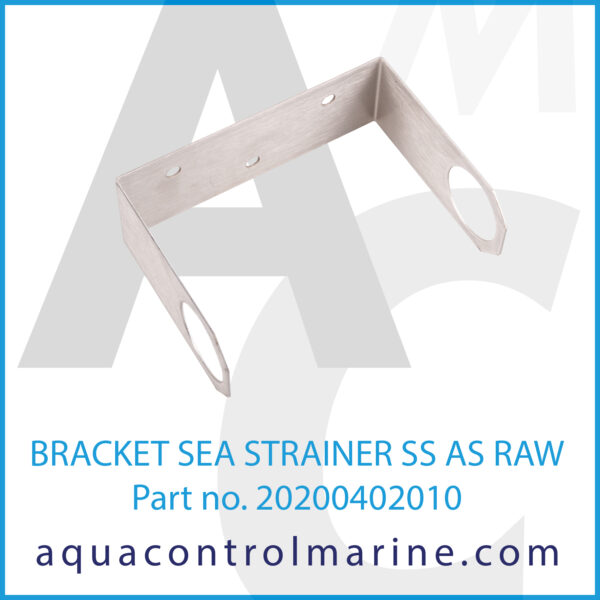 0 BRACKET SEA STRAINER SS AS RAW