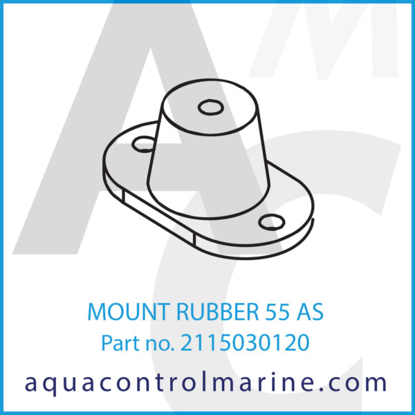 MOUNT RUBBER 55 AS