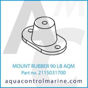 MOUNT RUBBER 90 LB AQM