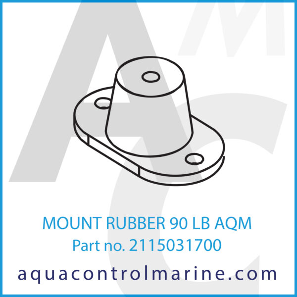 MOUNT RUBBER 90 LB AQM