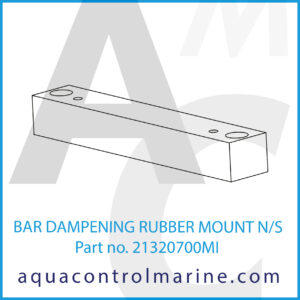 BAR DAMPENING RUBBER MOUNT N_S