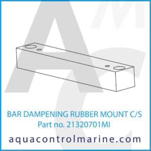 BAR DAMPENING RUBBER MOUNT C_S