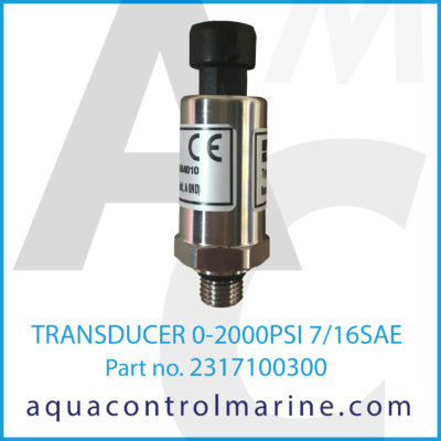 TRANSDUCER 0-2000PSI 7/16SAE