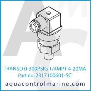 TRANSD 0-300PSIG 1_4MPT 4-20MA