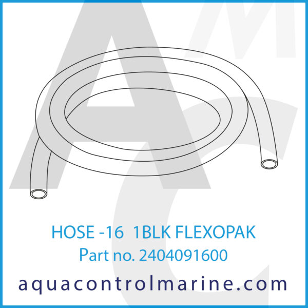 HOSE -16 1BLK FLEXOPAK