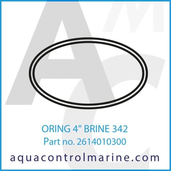 ORING 4inch BRINE 342