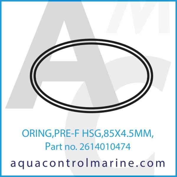 ORING,PRE-F HSG,85X4.5MM,