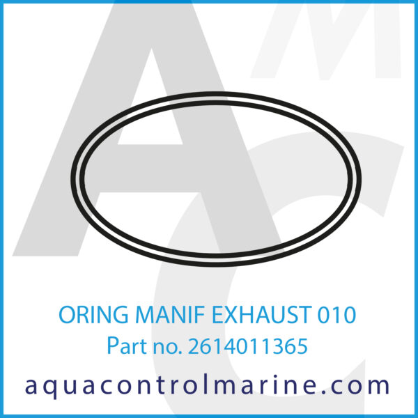 ORING MANIF EXHAUST 010