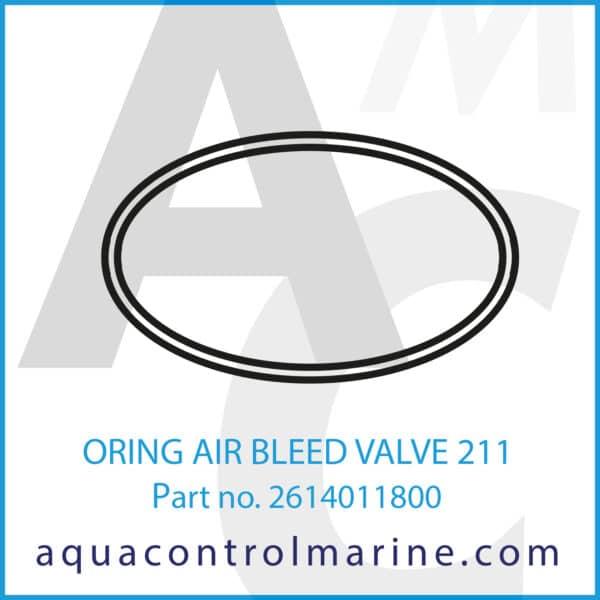 ORING AIR BLEED VALVE 211