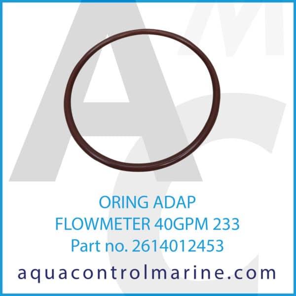 ORING ADAP FLOWMETER 40GPM 233