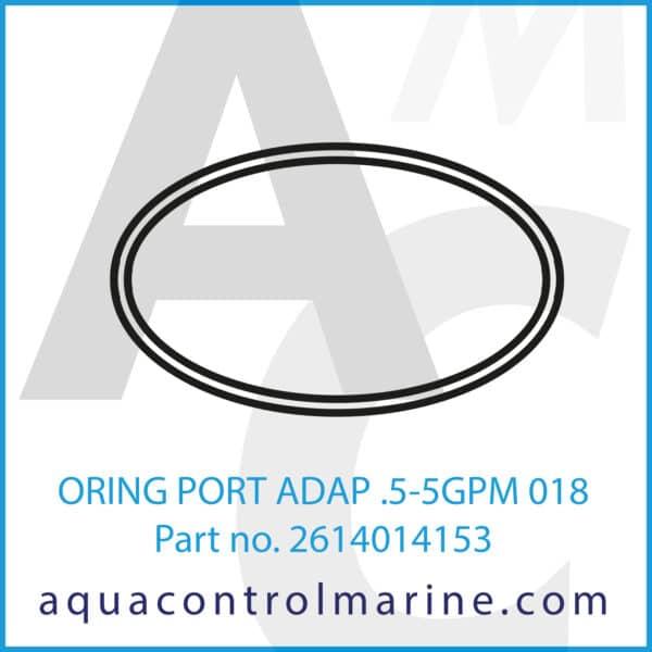 ORING PORT ADAP .5-5GPM 018