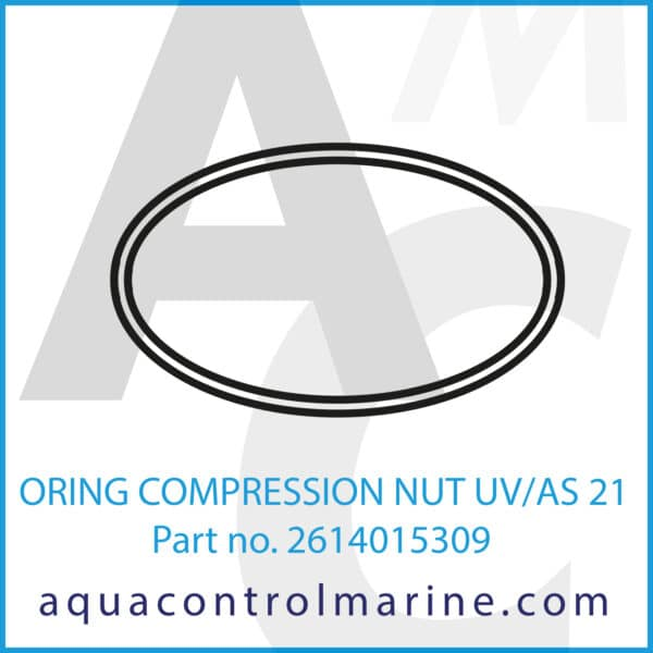 ORING COMPRESSION NUT UV_AS 21