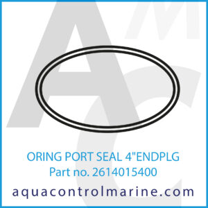 ORING PORT SEAL 4inch ENDPLG