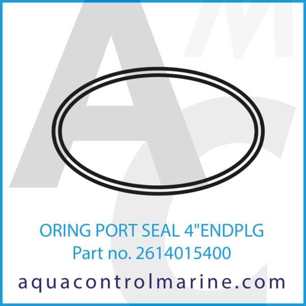 ORING PORT SEAL 4inch ENDPLG