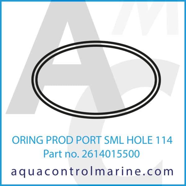ORING PROD PORT SML HOLE 114