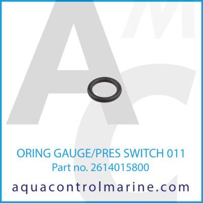 O-RING GAUGE/PRES SWITCH 011