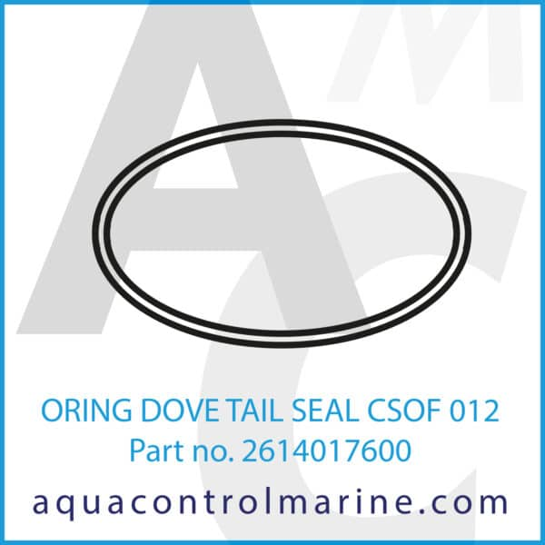 ORING DOVE TAIL SEAL CSOF 012