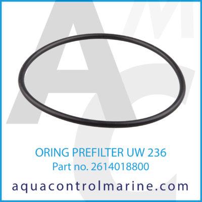 O-RING PREFILTER UW 236