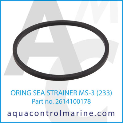 O-RING SEA STRAINER MS-3 233