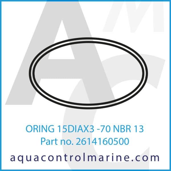 ORING 15DIAX3 -70 NBR 13