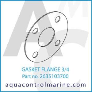 GASKET FLANGE 3_4