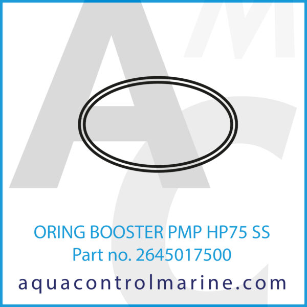 ORING BOOSTER PMP HP75 SS