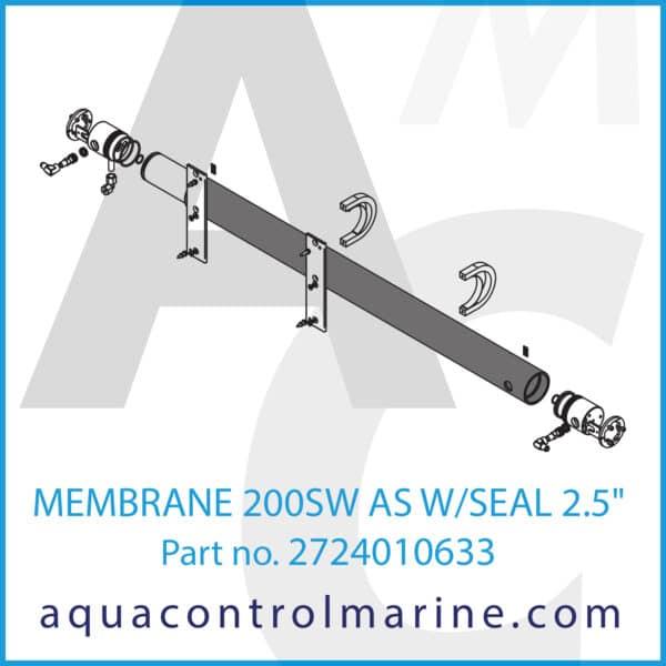 MEMBRANE 200SW AS W_SEAL 2.5inch
