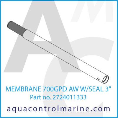 """MEMBRANE 700GPD AW W/SEAL 3"""""""