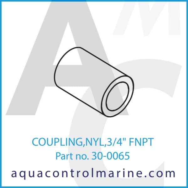 COUPLING,NYL,3_4inch FNPT