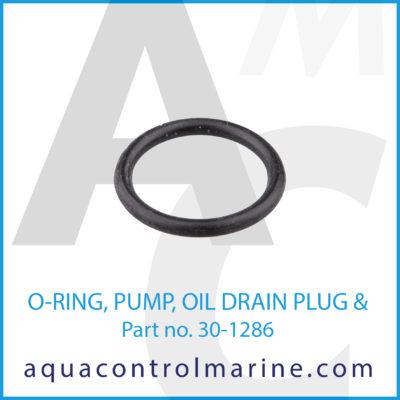 O-RING PUMP OIL DRAIN PLUG