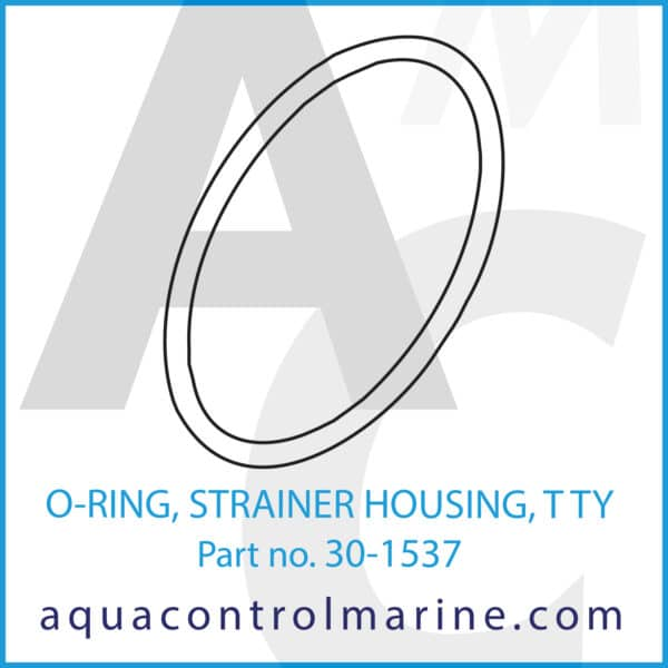 O-RING, STRAINER HOUSING, T TY