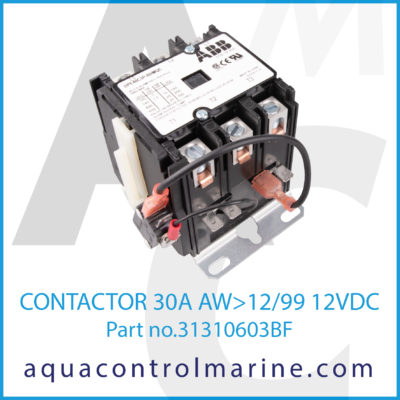 CONTACTOR 30A AW12/99 12VDC