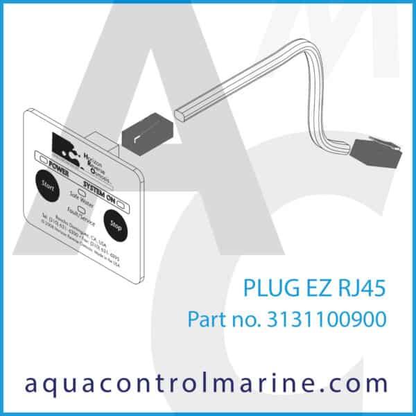 PLUG EZ RJ45 - part