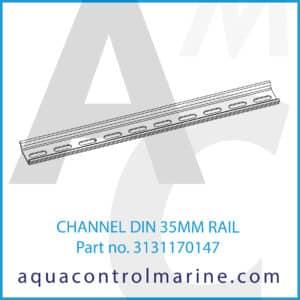 CHANNEL DIN 35MM RAIL