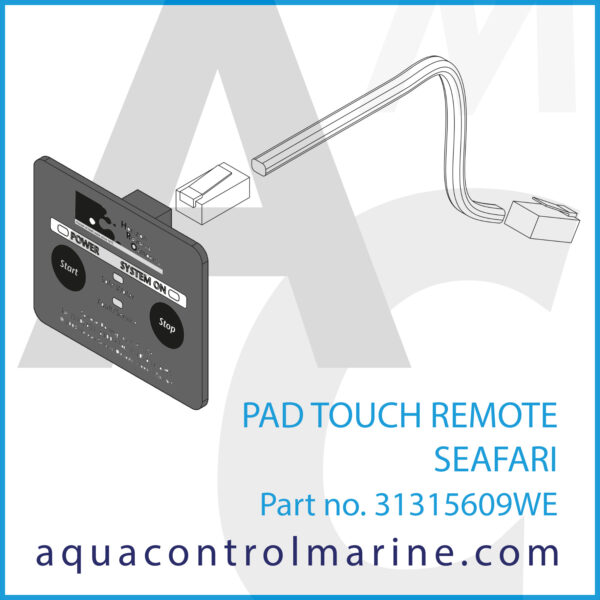 PAD TOUCH REMOTE SEAFARI - part