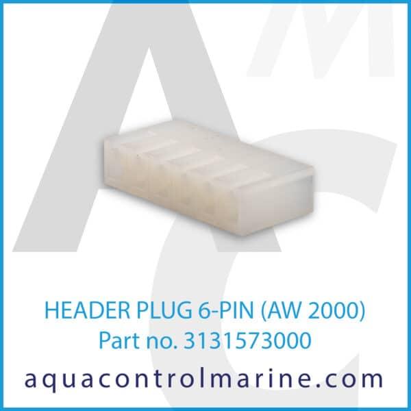 HEADER PLUG 6-PIN (AW 2000)